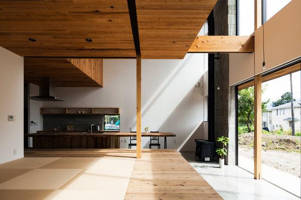 和室・和風 リビング by ツクリト建築設計事務所