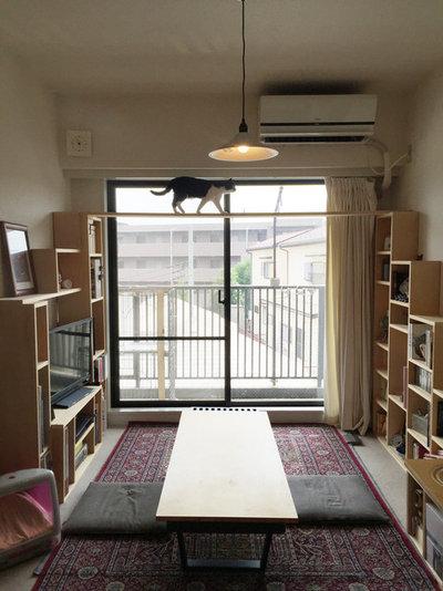 北欧 リビング by 猫と建築社