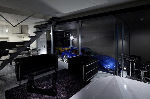 モダン リビング by 一級建築士事務所  K16 Design Factory