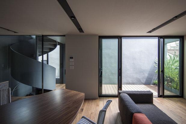モダン リビング by U建築設計室 / U-Architects Studio