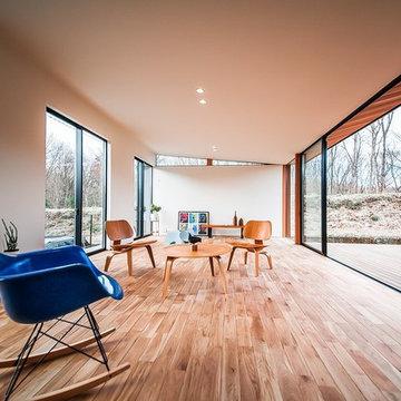 森と暮らす家
