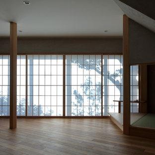 大阪の和風のおしゃれなリビングの写真