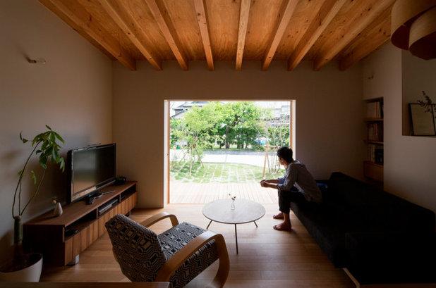 モダン リビング by 松原建築計画/matsubara architect design office