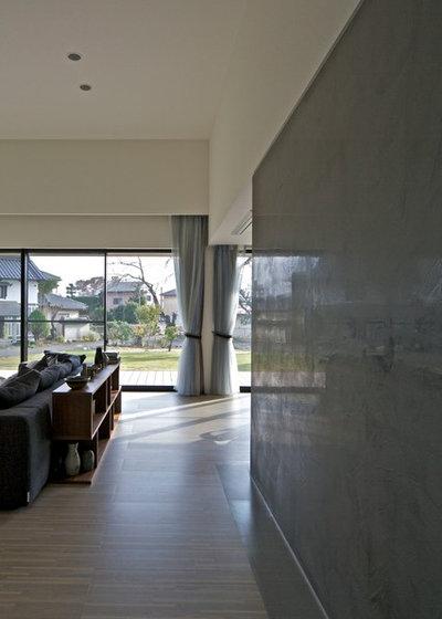 モダン リビング by 株式会社JWA建築・都市設計 Jun Watanabe & Associates