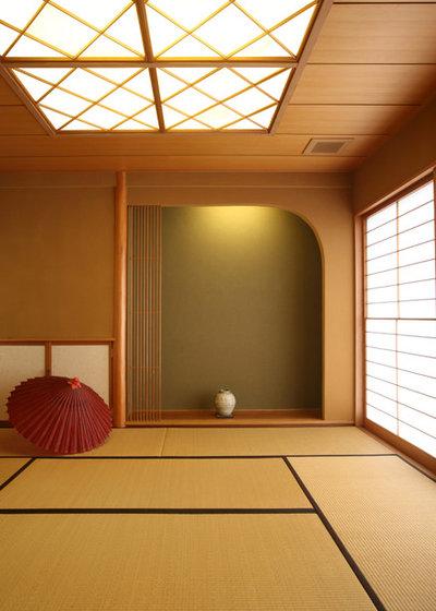 和室・和風 リビング by 吉田設計+アトリエ・アジュール