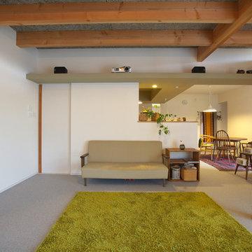 生活空間で気兼ねなく楽しめるホームシアター