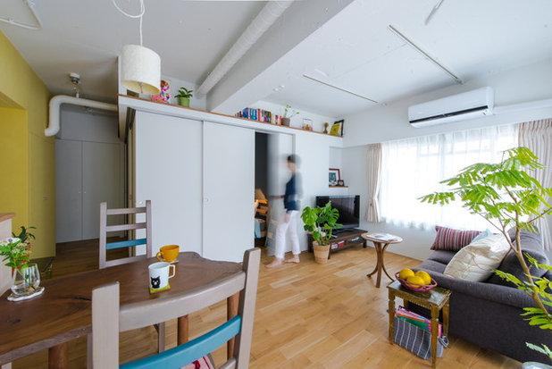 リビングルーム by スタジオ桜の木