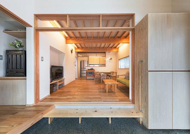 和室・和風 リビング by 荒川建築設計室