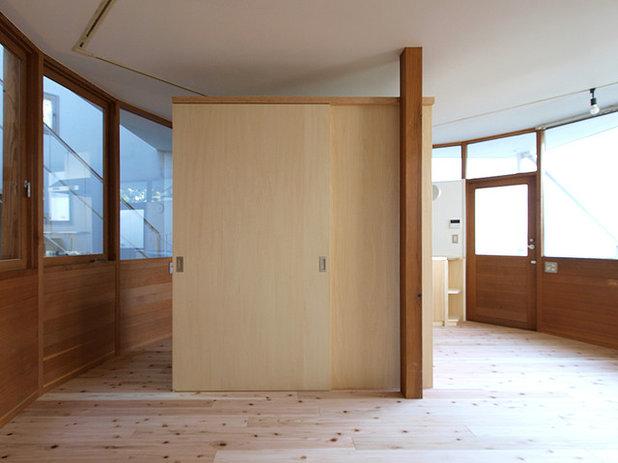 北欧 リビング・居間 by 志田茂建築設計事務所