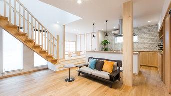 空間を生かす「リアルサイズ」の家 リビング