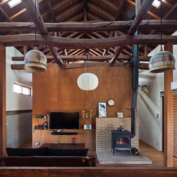 築100年を超える雨屋の改修