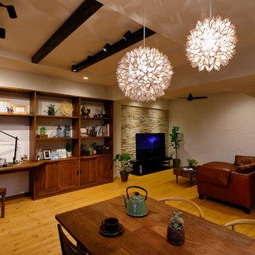 自宅でリゾート気分 -ゆったり開放的なLDK-(マンション/apartment)