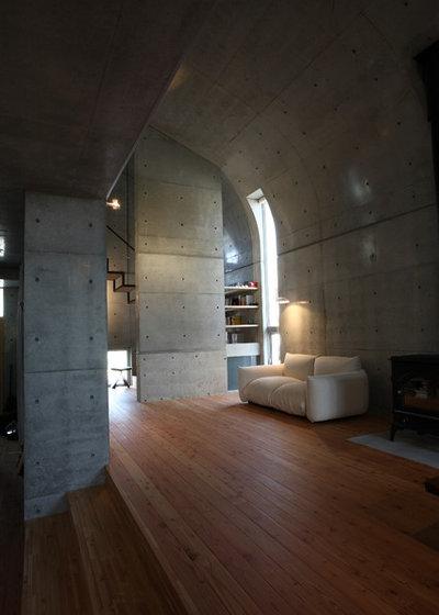 モダン リビング・居間 by アトリエ・K 建築研究室