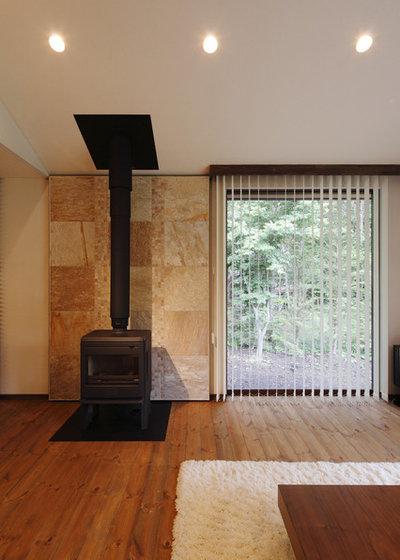 コンテンポラリー リビング by 菊池ひろ建築設計室|kikuchihiro design office