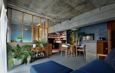 Casas Houzz: En Tokio, un hogar de espíritu nocturno