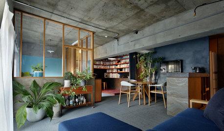 築40年超のマンションで日本的な陰影を再現。やわらかにつながる家族の住まい