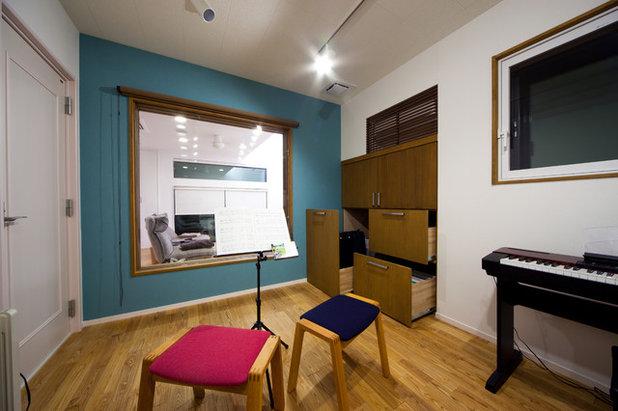 モダン リビングルーム by House Zen 一級建築士事務所