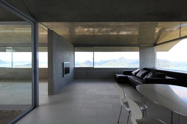 モダン リビング by 藤本寿徳建築設計事務所 Kazunori Fujimoto Architects