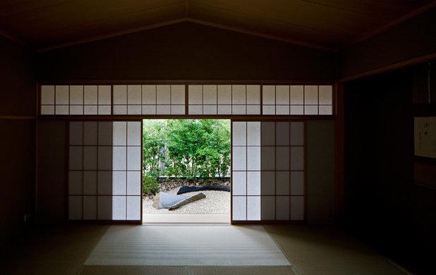 和室・和風 リビング by 木原千利設計工房