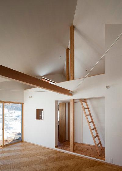 北欧 リビングルーム by 一級建築士事務所 暮らしと建築社