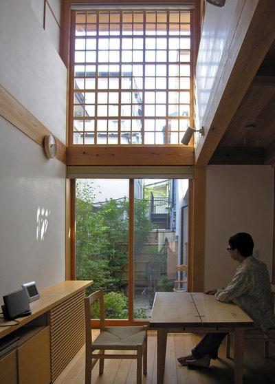 和室・和風 リビング by 株式会社 松井郁夫建築設計事務所