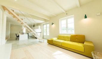 黄色い外観が印象的な久山の家