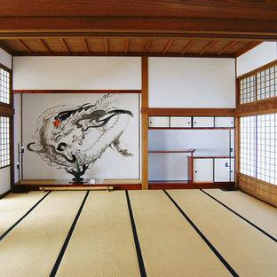 名古屋の和風のおしゃれなリビングの写真