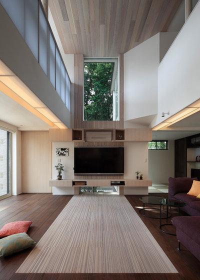 アジアン リビング by 長谷川建築デザインオフィス HasegawaDesign