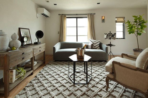 Asian Living Room by Authentic Collection