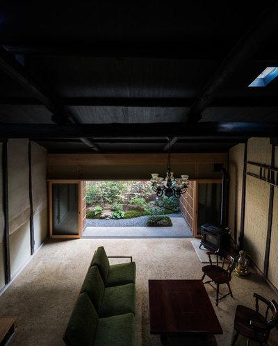 和室・和風 リビング by 京都の建築家 森田一弥建築設計事務所