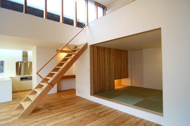 和室・和風 リビング by Mimasis Design/ミメイシスデザイン