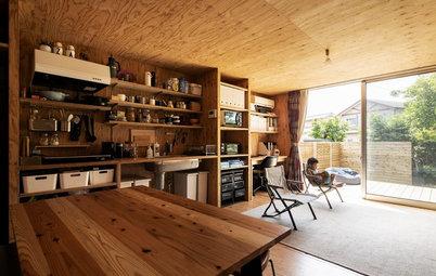 低予算で期間限定。建築家が建てた「仮住まいの自邸」
