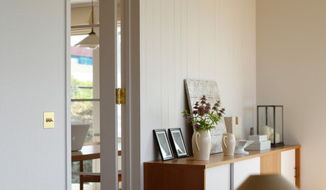 My houzz for Minimalist living by genevieve parker hill