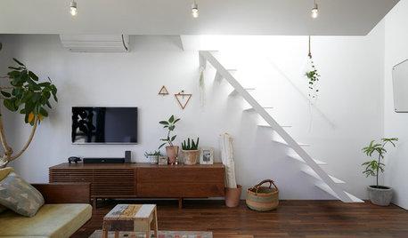 印象的なインテリアを作る、リビング階段の活かし方