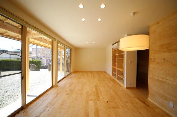 リビングルーム by 環デザイン舎