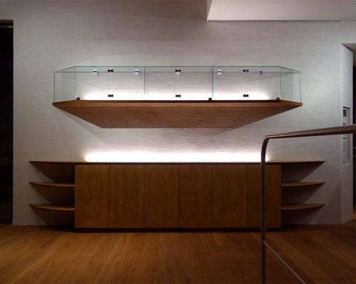 wohnzimmer mit sperrholzboden und hausbar ideen design. Black Bedroom Furniture Sets. Home Design Ideas