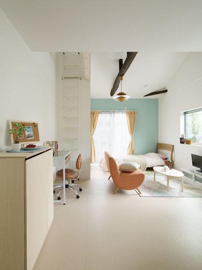 Skandinavisch Wohnbereich By ARCHISTUDIO KAWAGUCHI Co.,Ltd.