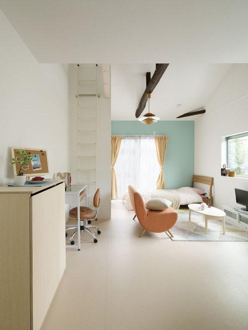 Mini office houzz for Jugendzimmer neu dekorieren