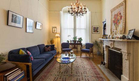 Houzzツアー:家族の歴史と思い出が詰まった、ヴィクトリアンハウスの暮らし
