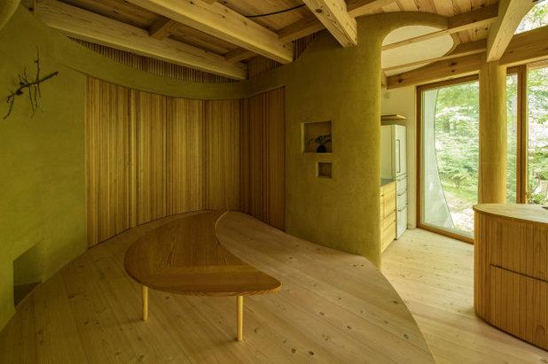 コンテンポラリー リビング by 遠野未来建築事務所