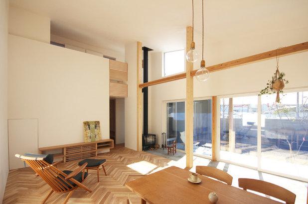 モダン リビングルーム by 刈谷建築設計事務所