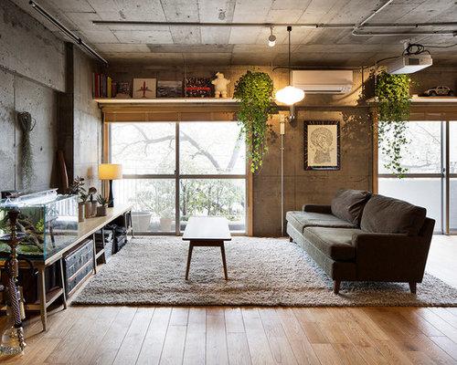 Industrial Wohnzimmer In Japan Ideen Design Bilder Houzz