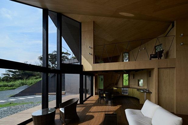 Contemporary Vardagsrum by 廣部剛司建築研究所/Takeshi Hirobe Architects