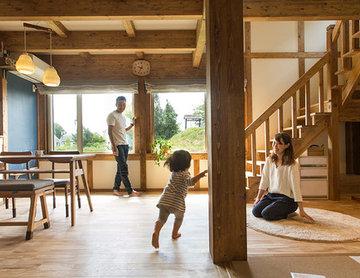 休日も家で遊びたくなる木のぬくもりが詰まった家