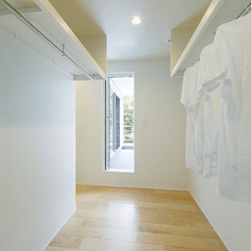 シンプル収納スペース
