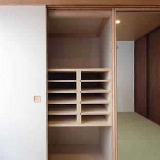 東京23区の和風のおしゃれな収納・クローゼットの写真