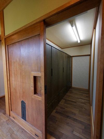 和室・和風 クローゼット by 株式会社 飯井建築設計事務所