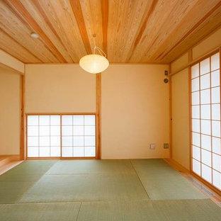 東京都下の和風のおしゃれな地下室の写真