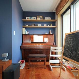 Ejemplo de dormitorio infantil de estilo zen pequeño