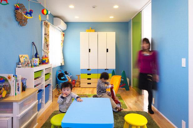 モダン 子供部屋 by Qull一級建築士事務所